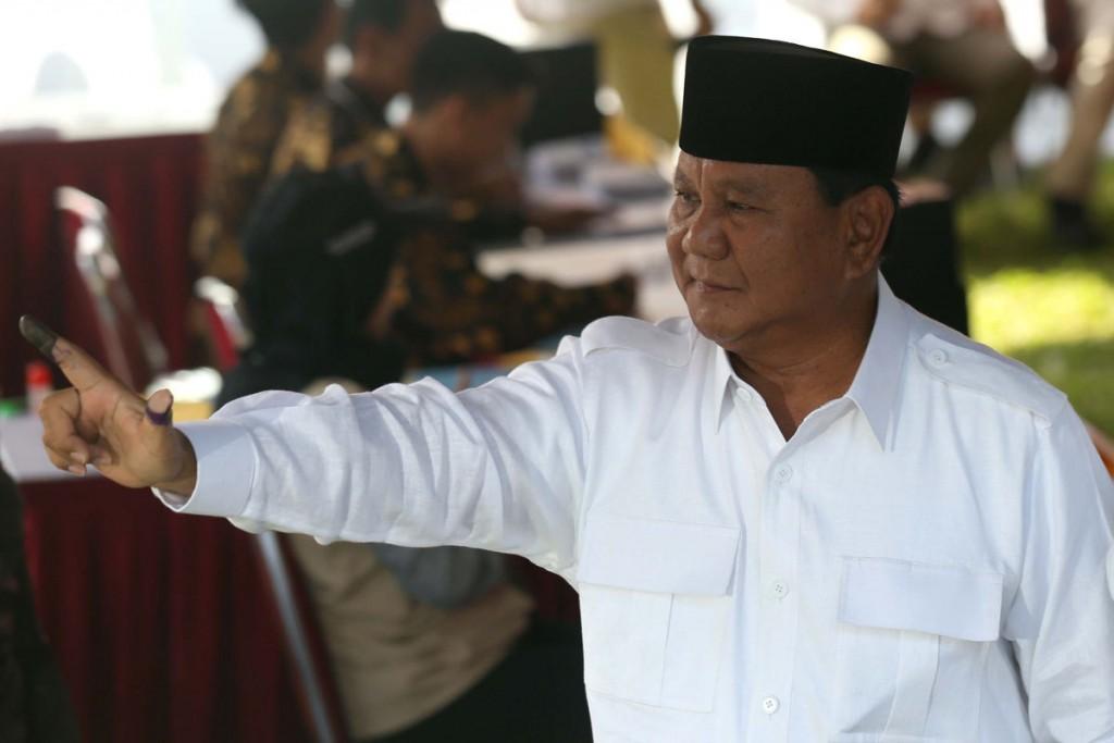 Prabowo kalah