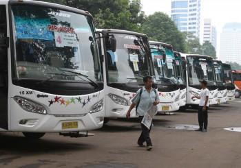 Jumlah Bus Pariwisata Salip Bus Antarprovinsi