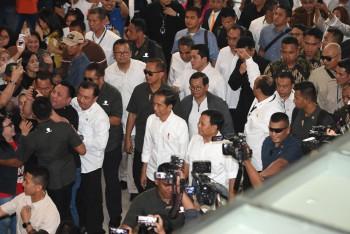 Tokoh yang Selalu Hadir Saat Jokowi-Prabowo Bertemu