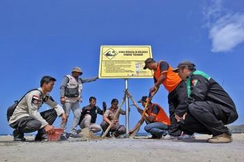 Jejak Tsunami di Pantai Selatan Jawa