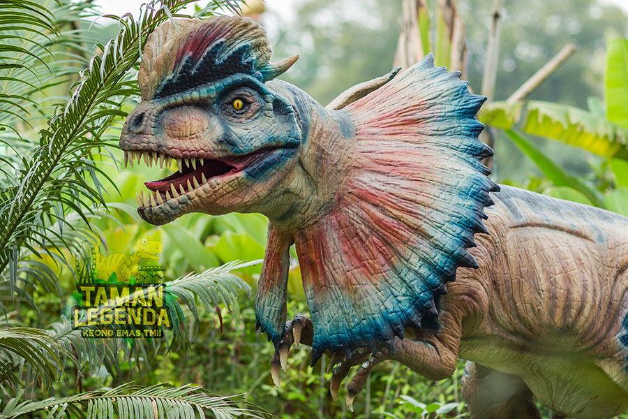 Wisata Sangiran bangun dinosaurus