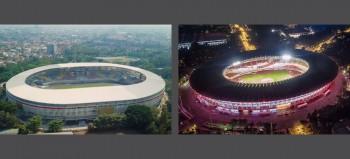 Seberapa Mirip Stadion Manahan dengan Gelora Bung Karno?