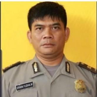 Ipda Erwin Yudha Wildani gugur akibat luka bakar yang dialaminya (detik)