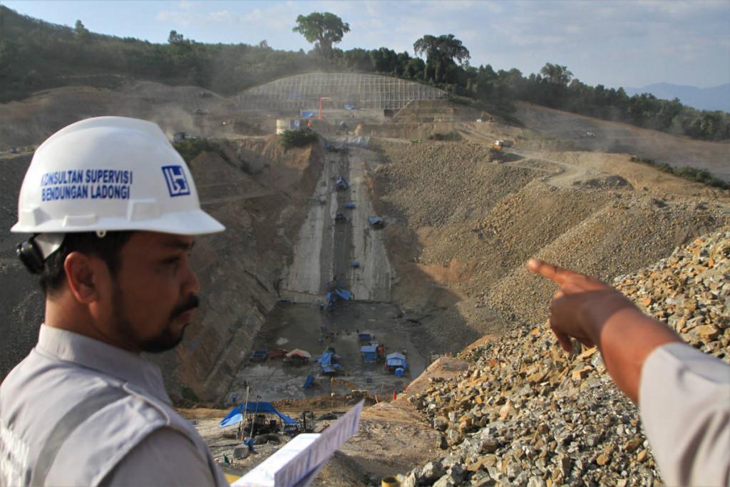 proyek infrastruktur bendungan