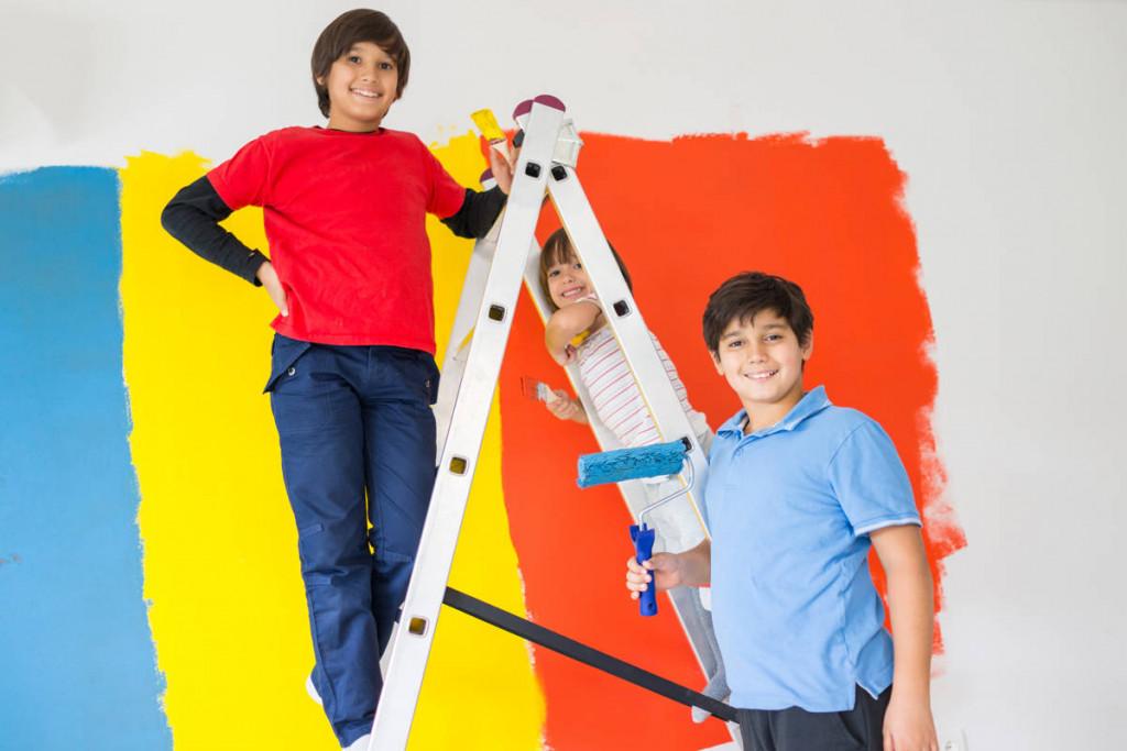 memilih warna cat tembok