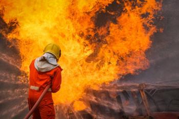 kebakaran pabrik