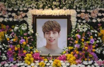 Jonghyun Shinee meninggal dunia 18 Desember 2017 (Naver)