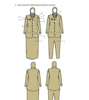pakaian dinas PNS