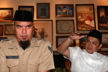 Jejak Politik Ahmad Dhani yang Lirik Pilkada Surabaya 2020
