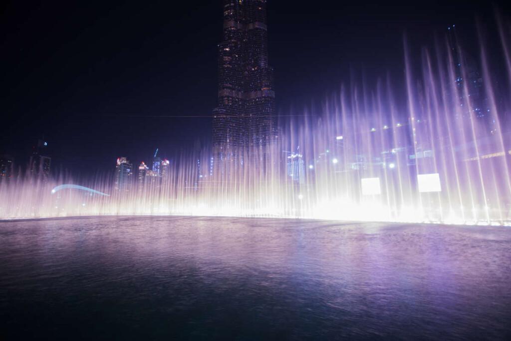 pesona The Dubai Fountain