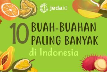 Buah-Buahan Paling Pasaran di Indonesia