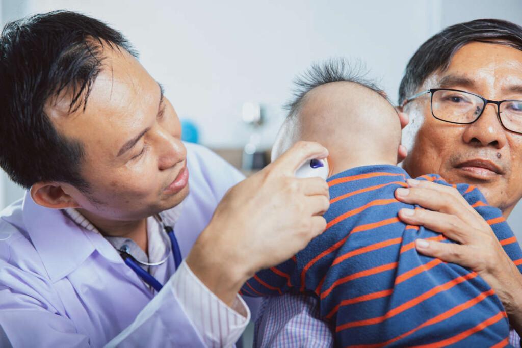 tes pendengaran bayi