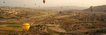 Banner wisata di Turki. (Wikipedia)