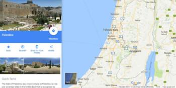 Heboh Palestina Hilang Lagi di Google Maps, Begini Penjelasannya