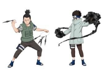 Shikamaru Nara dan Shino Aburame. (Istimewa/WeeklyjumpJounral.com)