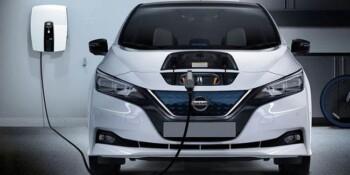 Mobil listrik Nissan Leaf. (Istimewa/Nissan)