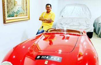 Mengintip Koleksi Mobil Mewah dan Moge Bambang Soesatyo