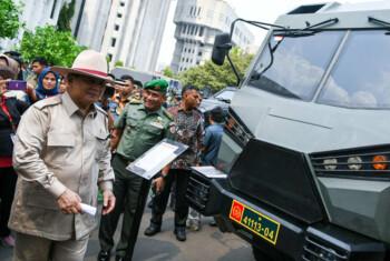 Prabowo Bangga, Ini Alutsista Buatan Indonesia yang Mendunia