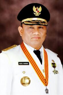 Rusli Habibie gubernur terkaya