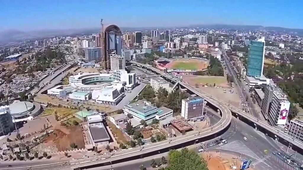 ibu kota negara Ethiopia