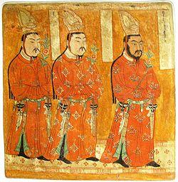 Lukisan bangsa Uighur di Museum Berlin, Jerman (Mei 2006). (Istimewa/Wikipedia)