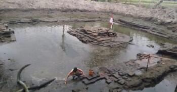 Temuan-Temuan Baru Petirtaan Suci Majapahit di Jombang