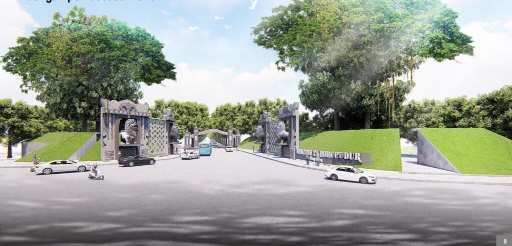 gerbang Borobudur