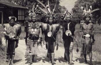 Ngayau, Tradisi Suku Dayak Penggal Kepala Manusia