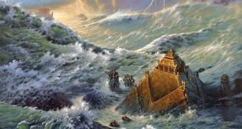 Begini Dahsyatnya Banjir Besar di Zaman Nabi Nuh