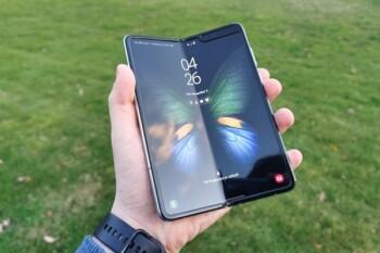 Samsung Galaxy Fold pertama. (Istimewa)