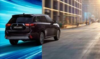 Mobil listrik Mitsubishi Outlander PHEV yang dibanderol dengan harga cukup mahal. (Istimewa/Mitsubishi)