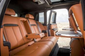 Interior Rolls Royce Cullinan. (Istimewa)