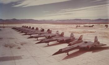 Fasilitas militer di Nevada. (Istimewa)