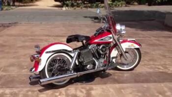 Pertaruhan Jabatan Ari Askhara Demi Harley-Davidson Shovelhead 1970