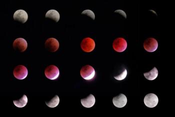 Jangan Kelewatan! Gerhana Bulan Total Terjadi Besok, Ini Lokasi dan Waktunya!