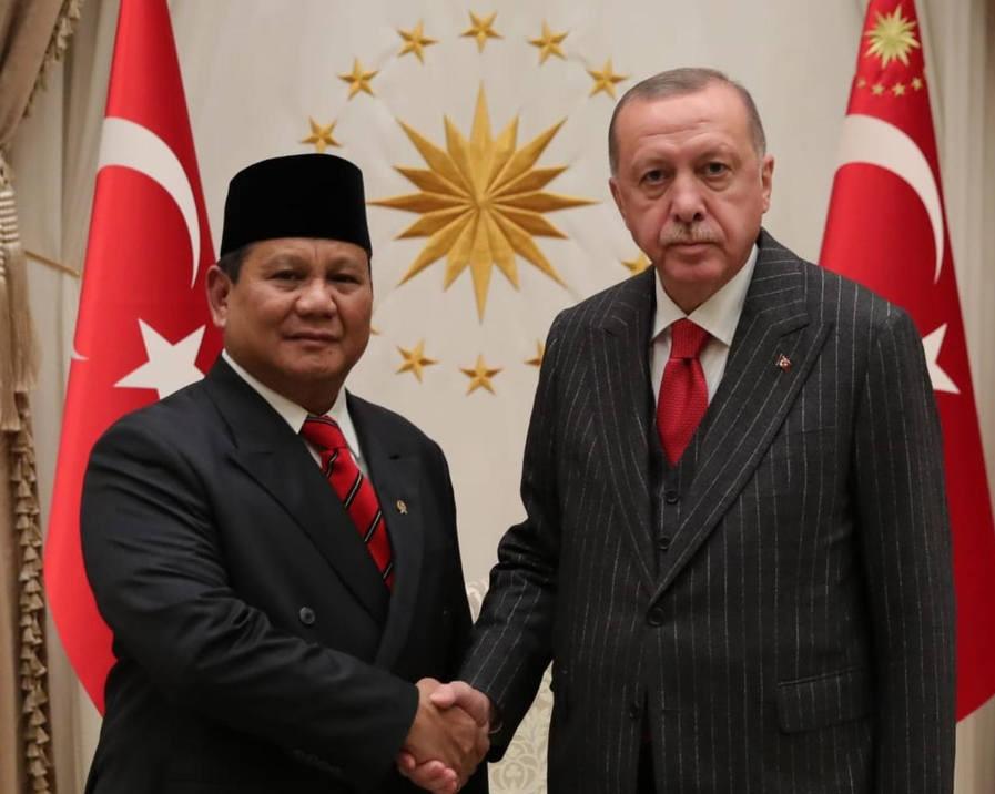 Prabowo Erdogan