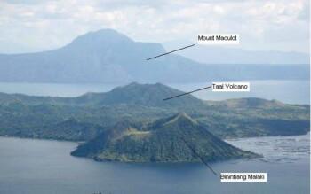 Letak Taal Volcano. (Istimewa/1pisofare.com)