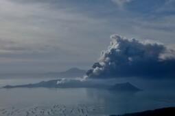 Riwayat Taal Volcano, Sekali Erupsi 7 Desa Lenyap