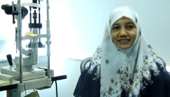 Implan Glaukoma Murah di Tangan Virna Dwi Oktariana