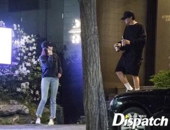 Lee Min Ho dan Suzy yang tertangkap kamera Dispatch. (istimewa)