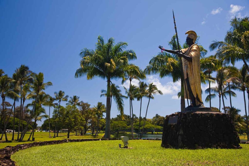 Patung Raja Kamehameha