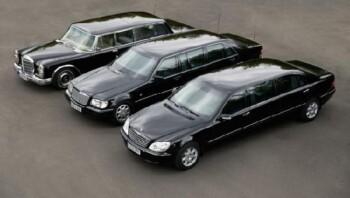 Generasi terdahulu Mercedes Benz S600 hingga versi baru. (Istimewa)