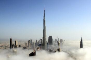 Burj Khalifa, bangunan tertinggi di Dubai, UEA yang sempat diklaim sebagi tanda kiamat. (Reuters)