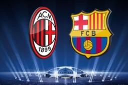 Arti Simbol Salib di Logo Milan dan Barcelona