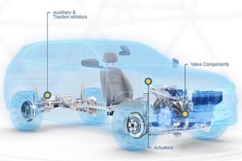 Mesin mobil listrik dengan arsitektur lebih sederhana. (Istimewa)