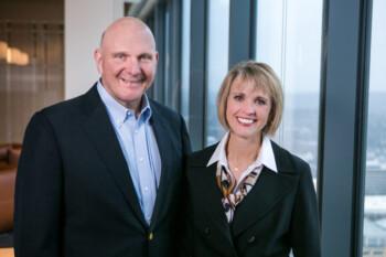 Steve & Connie Ballmer (bisnis.com)