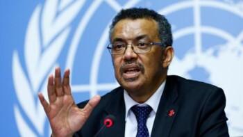 Direktur Jenderal WHO, Tedros Adhanom Ghebreyesus (Reuters)