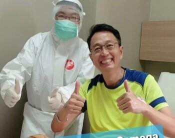 Sembuh, Tung Desem Waringin Bagikan Kiat Lumpuhkan Virus Corona