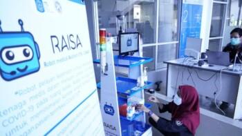Robot Assistant ITS-Unair (RAISA) (Liputan6.com)
