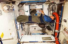 Cara tidur astronaut (Esa.int)